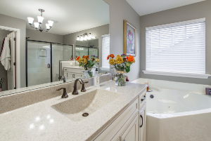 Remodeled Master Bathroom in Cedar Falls
